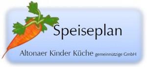 Wir kooperieren seit 2015 mit der gemeinnützigen GmbH Altonaer Kinder Küche. Sie können hier den aktuellen Speiseplan herunterladen. Grafik: M. Berthe