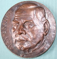 Max-Brauer Auf der Preismedaille