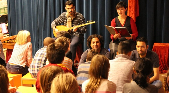 """Veranstaltung der """"Hamburger Märchentage"""" in unserer Schule"""