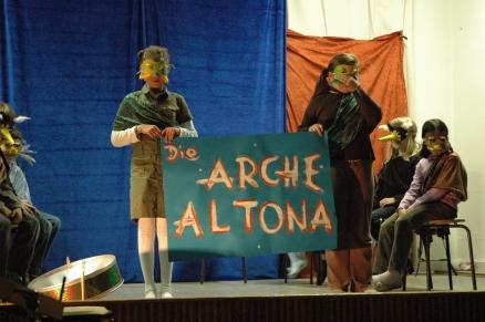 """Szene aus """"Arche Altona"""" - Foto: M. Rieger"""