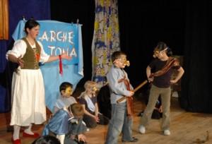 "Szene des Theaterprojektes ""Arche Altona"" - Foto: M. Rieger"