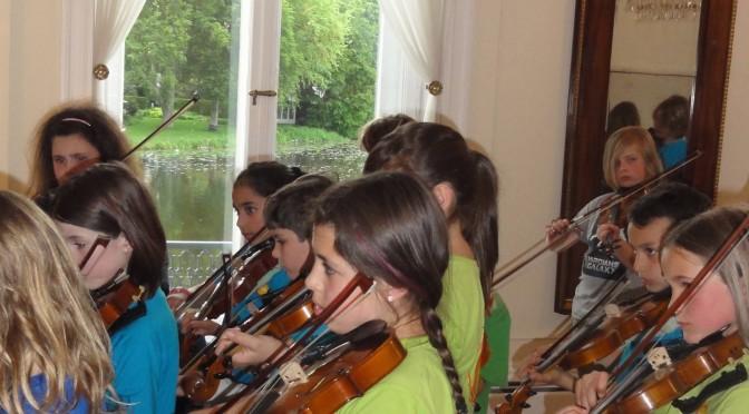 Geigen mit Alsterblick