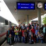 Am 8. Juli startete eine Gruppe aus Schüler*innen, Lehrer*innen und Künstler*innen am Altonaer Bahnhof zur Preisverleihung nach Berlin. Foto: S. Ahrens