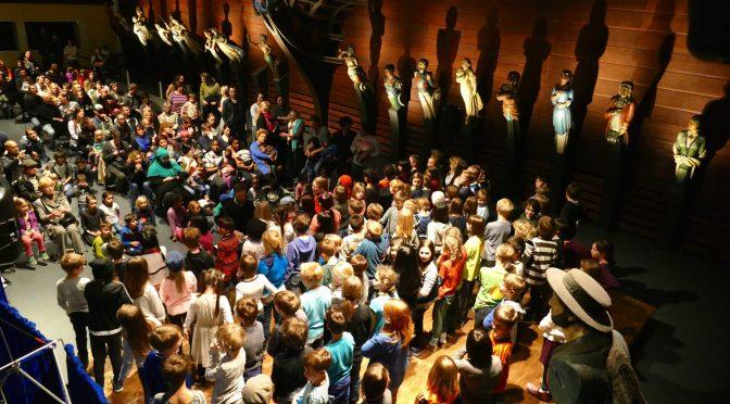 Chor im Altonaer Museum