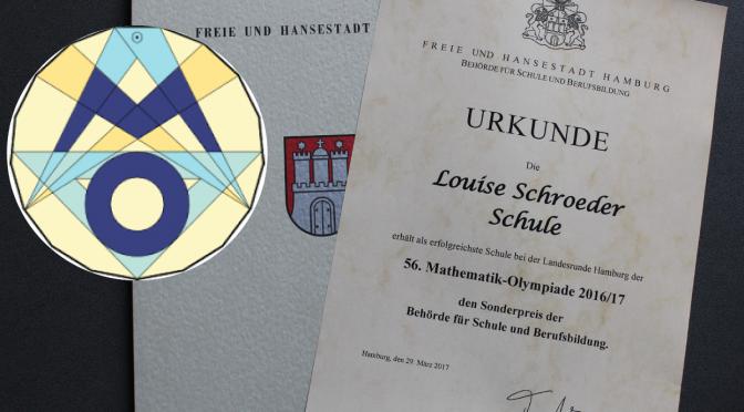 Mathematik-Olympiade: Louise Schroeder Schule erhält Sonderpreis!